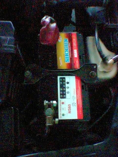 Bateri NS60 SHOGUN  Yuasa - Maintenance Free