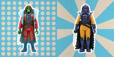 San Diego Comic-Con 2020 Exclusive Phantom Starkiller & Count Draco Knuckleduster ReAction Figures by Killer Bootlegs x Super7
