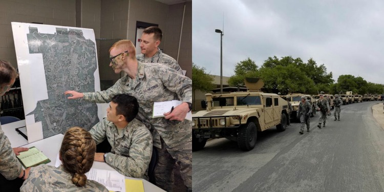 Security Forces Officer Course, Air Force Security Forces, Camp Bullis