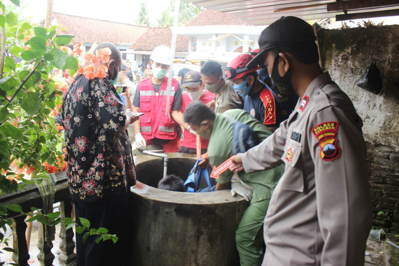Innalillah, Warga Kelurahan Panjer Ditemukan Meninggal di Sumur
