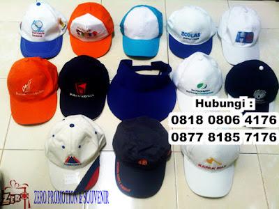 Menjual dan produksi( konveksi) topi promosi dan souvenir di Tangerang