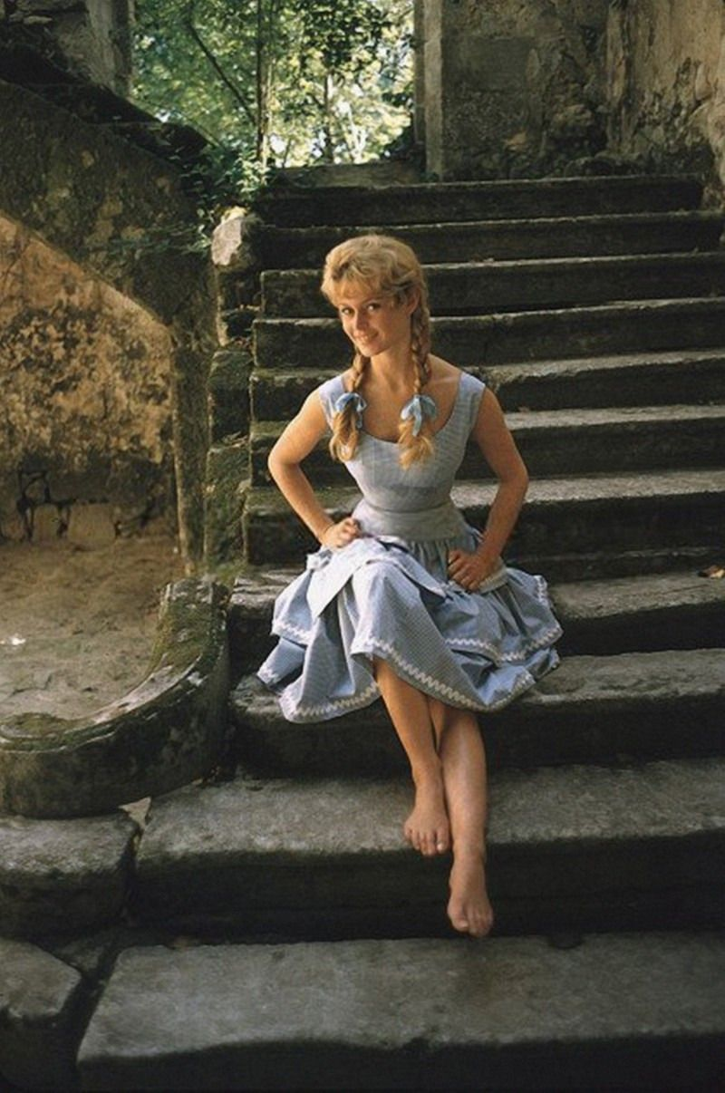 Beautiful Color Photos Of Brigitte Bardot Photographed By