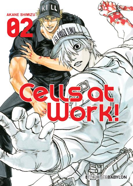 Review del manga Cells at Work Vol.2 de Akane Shimizu - Ediciones Babylon