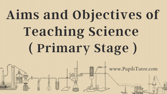 Primary Stage Of Education And The Aims And Objectives Of The Teaching Of Science   Teaching Science In Elementary Grades    What Is The Purpose Of Teaching Science At Primary Level?