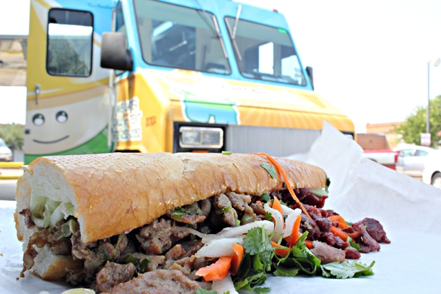 dallas food trucks nammi truck bahn mi