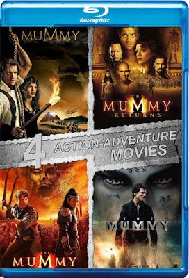 COMBO The Mummy Colección DVD HD Dual Latino 5.1 + Sub 2xDVD5
