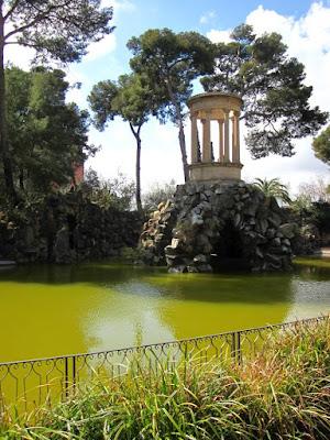Lago del Parque de Can Vidalet