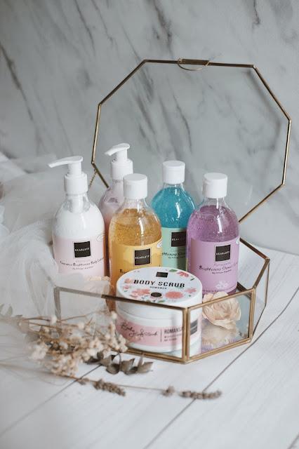 Rangkaian produk scarlett whitening
