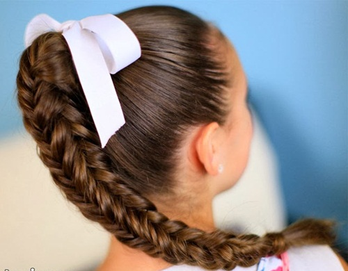 tutorial rambut kepang
