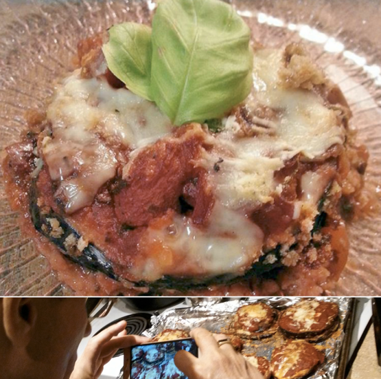 Fort Lauderdale Personal Chef - Eggplant Parmesan Stacks Recipe