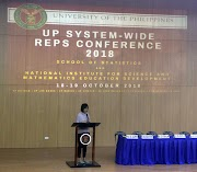 Selected NISMED Staff Participate in UP Systemwide REPS Conference 2018