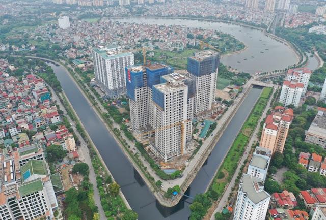 Khu tái định cư nằm gần với khu Kim Lũ, Linh Đàm