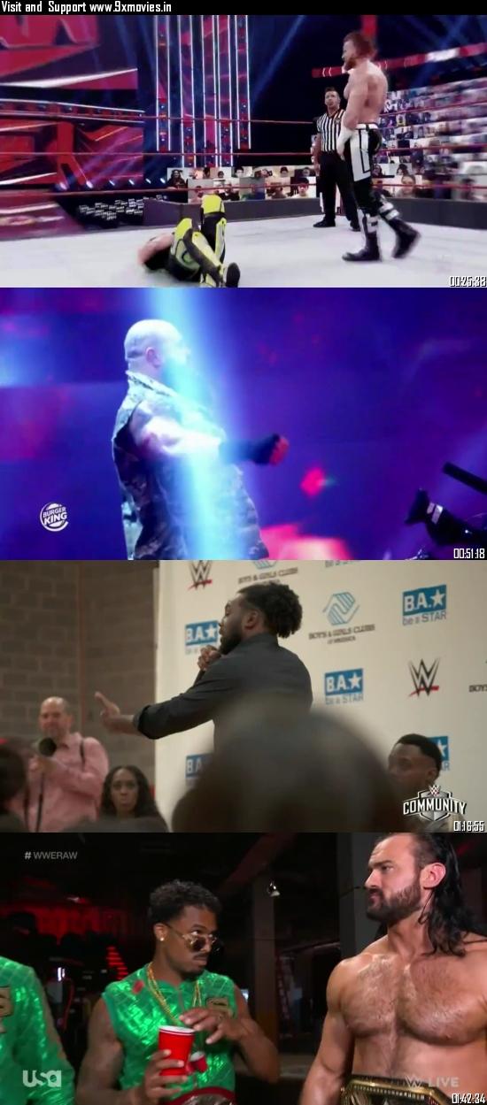 WWE Monday Night Raw 05 October 2020 HDTV 720p 480p 500MB