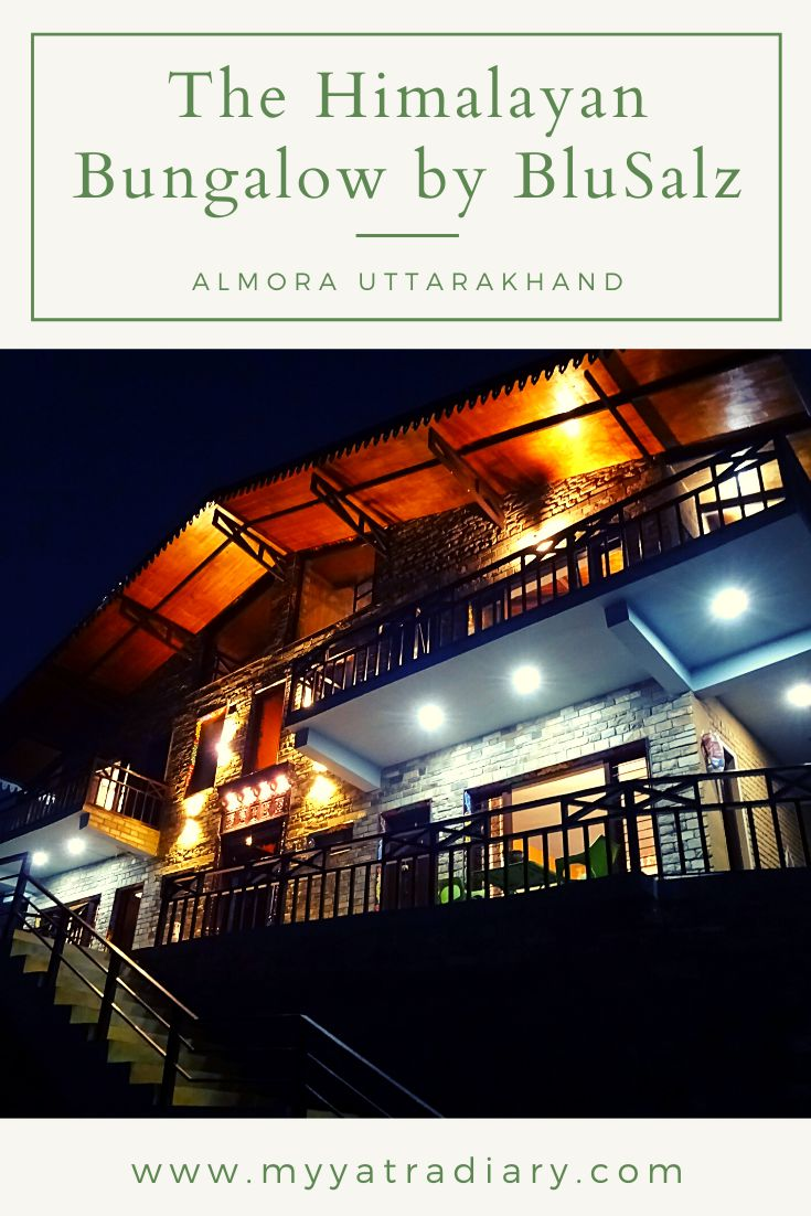 Luxury boutique homestay in Almora The Himalayan Bungalow  by BluSalz