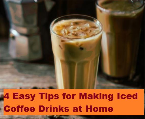 Making Iced Coffee