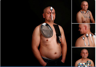 Meet The Man Who Claims To Magnet Items On His Body With 'Special Energy' (Photos)