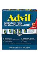 Advil Pain Reliever and Fever Reducer, Pain Relief Medicine with Ibuprofen 200mg