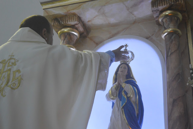 MAIO 2021: Paróquia de São Joaquim encerra Mês Mariano com coroação de Nossa Senhora