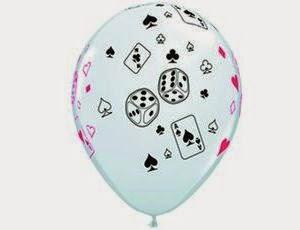 Воздушные шарики казино