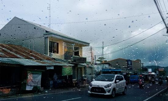 BMKG: Sepanjang Hari Ini Wilayah Moga & Sekitarnya Berpotensi Turun Hujan
