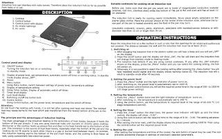 Klarstein VariCook SX 1800w, mauale d'uso