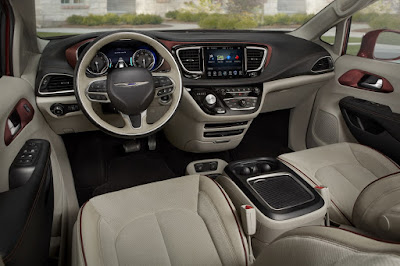 Interior CHRYSLER PACIFICA