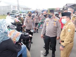 Gubernur Jambi Pantau PPKM Level IV Wilayah Kota Jambi