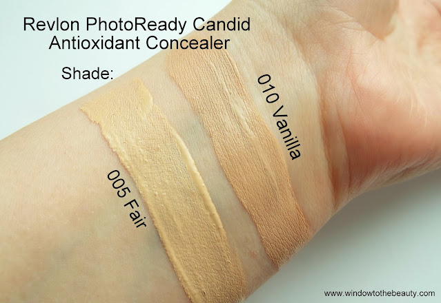 Revlon candid concealer shades swatches