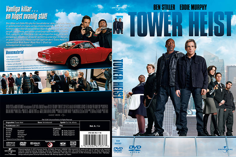 Tower Heist (2011) 720p BrRip [Dual Audio] [Hindi 5 1+English