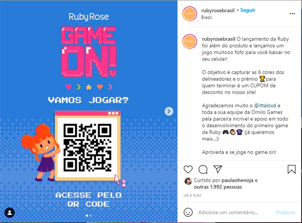 Delineador Colorido Game On da Ruby Rose blog Amanda Hossoi