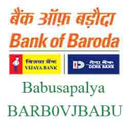 Vijaya Baroda Bank Babusapalya Branch New IFSC, MICR