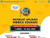 [GRATIS] Lomba Cipta Aplikasi Nasional 2021 di Kemdikbud RI