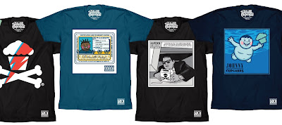 "Music ""Album Cover"" T-Shirt Collection by Johnny Cupcakes"