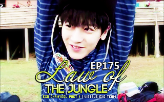 Vietsub] Chanyeol @ Law of The Jungle - The Last Hunter 2015 - EXONEWSVN