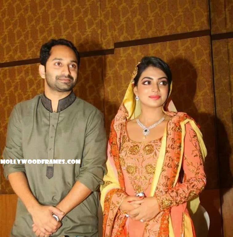 Fahadh Nazriya Nazim marriage on August 21