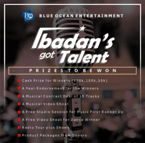 The Biggest Talent Show in the City of Ibadan is back.