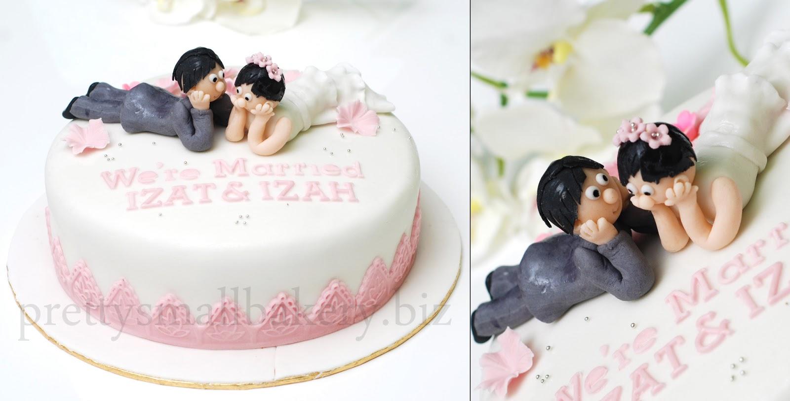 kek pengantin couple wed yang paling laris dr