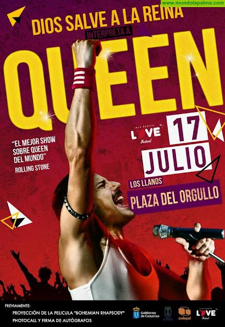 DSR - Queen abrirála semana del Isla BONITA Love Festival con un homenaje a Freddie Mercury en Los Llanos