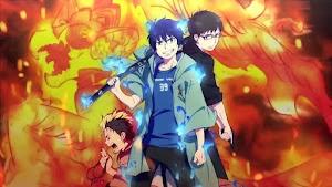 AO NO EXORCIST: KYOTO FUJOUOU-HEN 12/12 + OVA 02/02 [Sub-Español][MEGA][HD]