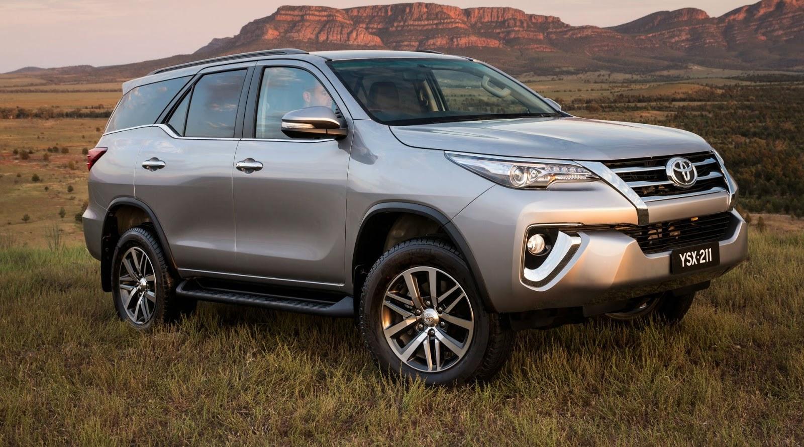 Nova geração da Toyota Hilux SW4 é ofertada em ...