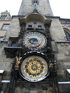 a579b043feb Praha raekoja kell. Niguliste kell nii võimas polnud, aga figuuride tants  täistunnil võis olla samaväärne vaatemäng.