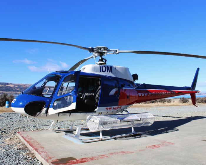 helicopter rides at mount cook