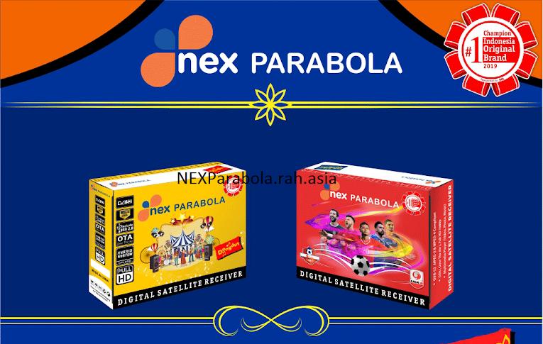 Harga Resmi Receiver NEX Parabola Terbaru
