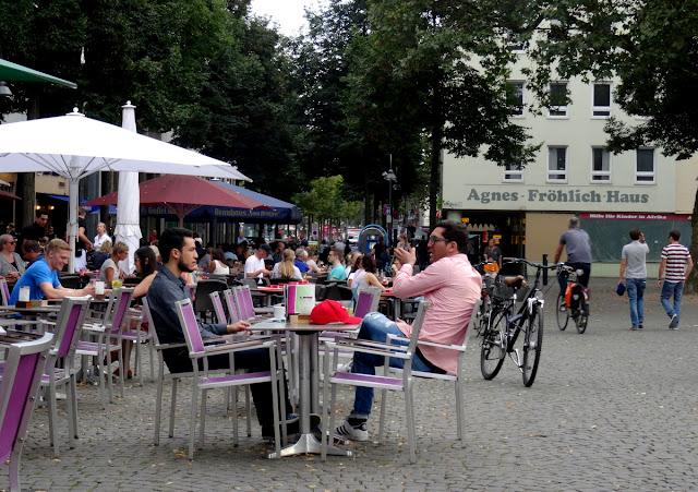 Altermarkt cafes