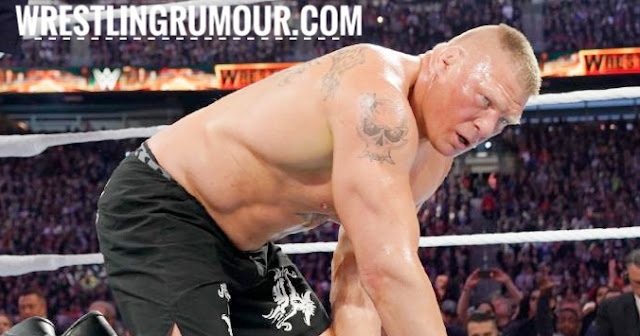 Why Brock Lesnar lose universal championship at wrestlemania 35??
