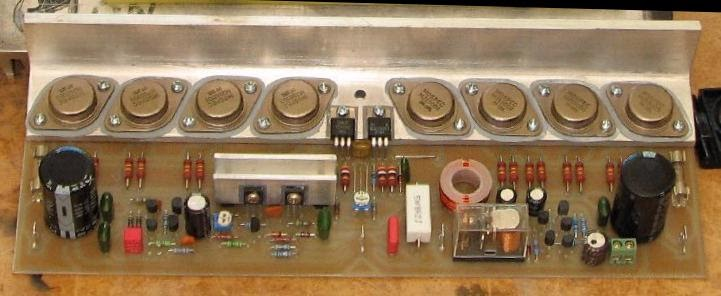 Power Amp 65w Hexfet Circuit
