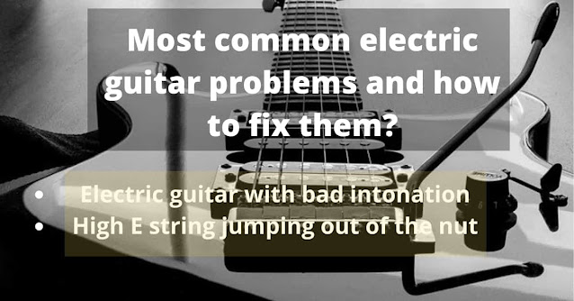 electric guitar problems
