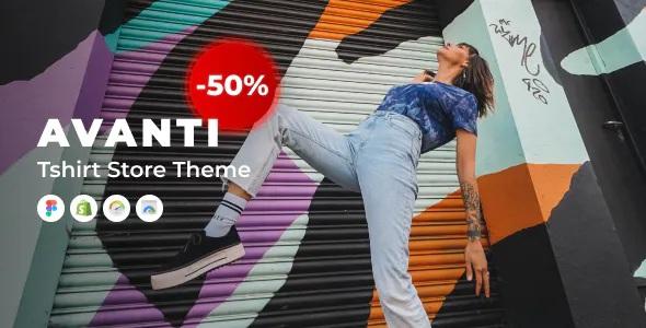 Best Shopify Tshirt Store Theme
