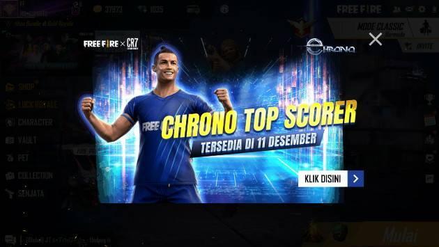 cara dapat bundle chrono top score christiano ronaldo