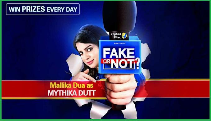 Latest Flipkart Fake Or Not Fake Answers